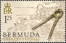 [The 500th Anniversary of Discovery of Bermuda by Juan de Bermudez (Spanish Navigator), Typ ACG]
