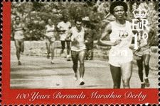 [The 100th Anniversary of the Bermuda Marathon Derby, Typ AFP]