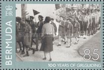 [The 100th Anniversary of the Girl Guides, Typ AGG]