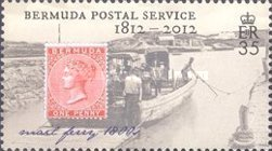 [The 200th Anniversary of Bermuda Postal Service, Typ AHW]