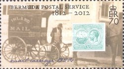 [The 200th Anniversary of Bermuda Postal Service, Typ AHX]