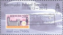 [The 200th Anniversary of Bermuda Postal Service, Typ AHZ]