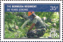 [The 50th Anniversary of the Bermuda Regiment, Typ AKG]