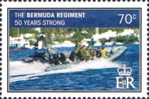 [The 50th Anniversary of the Bermuda Regiment, Typ AKH]