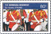 [The 50th Anniversary of the Bermuda Regiment, Typ AKI]