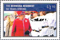 [The 50th Anniversary of the Bermuda Regiment, Typ AKJ]