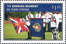 [The 50th Anniversary of the Bermuda Regiment, Typ AKK]