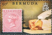 [The 150th Anniversary of Bermuda's Queen Victoria Postage Stamps, Typ AKW]