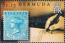 [The 150th Anniversary of Bermuda's Queen Victoria Postage Stamps, Typ AKX]