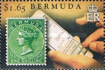 [The 150th Anniversary of Bermuda's Queen Victoria Postage Stamps, Typ ALA]