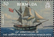 [The 170th Anniversary of Portuguese Immigration, Typ ANF]