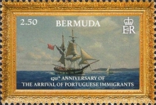 [The 170th Anniversary of Portuguese Immigration, Typ ANG]