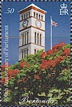 [The 400th Anniversary of the Bermuda Parliament, Typ ANL]