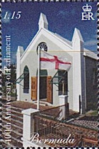 [The 400th Anniversary of the Bermuda Parliament, Typ ANM]