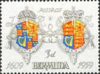 [The 350th Anniversary of Settlement, Typ BW1]