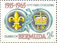 [The 50th Anniversary of Bermuda Boy Scouts Association, Typ CT]