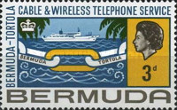 [Inauguration of Bermuda-Tortola Telephone Service, Typ DB]