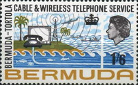 [Inauguration of Bermuda-Tortola Telephone Service, type DD]
