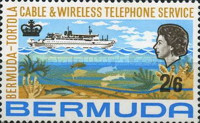 [Inauguration of Bermuda-Tortola Telephone Service, type DE]