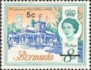 [Decimal Currency - Issue of 1962 Overprinted New Value, type DQ]