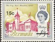 [Decimal Currency - Issue of 1962 Overprinted New Value, Typ DU]