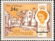 [Decimal Currency - Issue of 1962 Overprinted New Value, Typ DV]