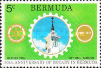 [The 50th Anniversary of Rotary in Bermuda, Typ GA]