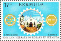 [The 50th Anniversary of Rotary in Bermuda, Typ GB]