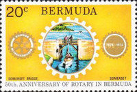 [The 50th Anniversary of Rotary in Bermuda, Typ GC]