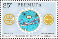[The 50th Anniversary of Rotary in Bermuda, Typ GD]