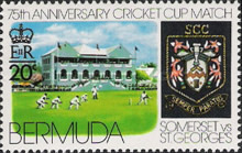 [The 75th Anniversary of St. George's v. Somerset Cricket Cup Match, Typ HK]
