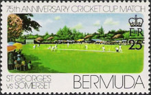 [The 75th Anniversary of St. George's v. Somerset Cricket Cup Match, Typ HL]