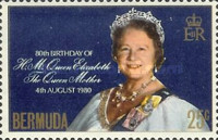 [The 80th Anniversary of the Birth of The Queen Mother, 1900-2002, type JO]