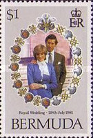 [Royal Wedding of Prince Charles and Lady Diana Spencer, type KB]