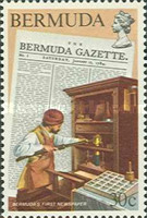 [The 200th Anniversary of Bermuda's First Newspaper and Postal Service, Typ LH]