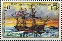 [The 375th Anniversary of First Settlement, Typ LN]