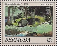 [Bermuda Paintings - Works by Winslow Homer, Typ NY]