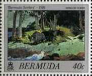 [Bermuda Paintings - Works by Winslow Homer, Typ NY1]