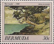 [Bermuda Paintings - Works by Winslow Homer, Typ NZ]
