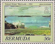 [Bermuda Paintings - Works by Winslow Homer, Typ OB]