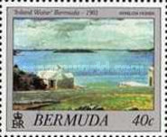 [Bermuda Paintings - Works by Winslow Homer, Typ OB1]