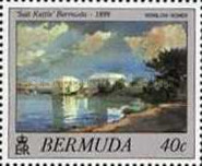 [Bermuda Paintings - Works by Winslow Homer, Typ OC1]