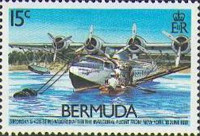 [The 50th Anniversary of Inauguration of Bermuda-U.S.A. Air Service, Typ OD]