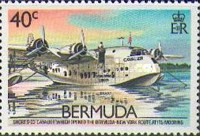 [The 50th Anniversary of Inauguration of Bermuda-U.S.A. Air Service, Typ OE]
