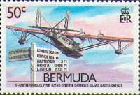 [The 50th Anniversary of Inauguration of Bermuda-U.S.A. Air Service, Typ OF]