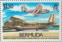 [The 50th Anniversary of Inauguration of Bermuda-U.S.A. Air Service, Typ OG]