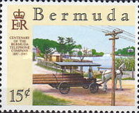 [The 100th Anniversary of Bermuda Telephone Company, Typ OH]