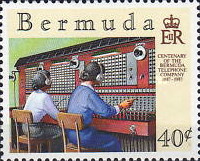 [The 100th Anniversary of Bermuda Telephone Company, Typ OI]