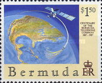 [The 100th Anniversary of Bermuda Telephone Company, Typ OK]