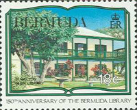 [The 150th Anniversary of Bermuda Library, Typ QD]